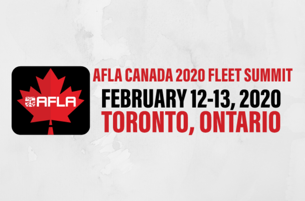 The BDS team attended the first AFLA fleet summit held in Canada